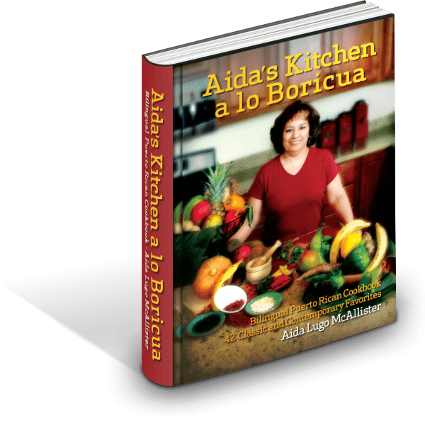 Bilingual Puerto Rican Cookbook